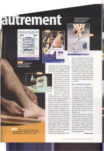 CBNews Santé remarque la pub télé URGO réalisée par TVLowCost avec Sébastien Chabal