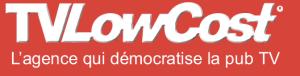 Logo agence TVLowCost, le low-cost dans la pub télé