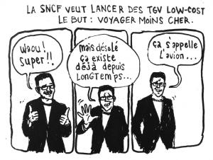 La SNCF adopte aussi le modèle low cost