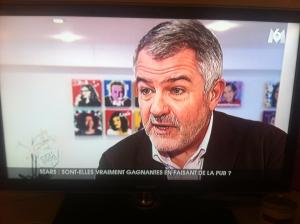 Jean-Paul Tréguer dans 100% MAG de M6 sur le celebrity marketing