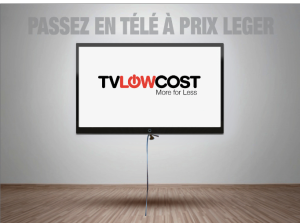 TVLOWCOST, la pub télé à prix légers.