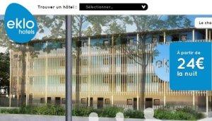 EKLO la révolution low cost dans l'hôtellerie