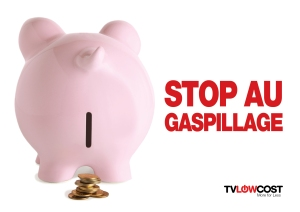 TVLowCost : stop au gaspillage